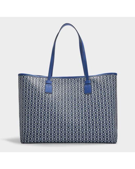 19e7cda3df08 Lyst - Tory Burch Gemini Link Tote Bag in Blue - Save 15%
