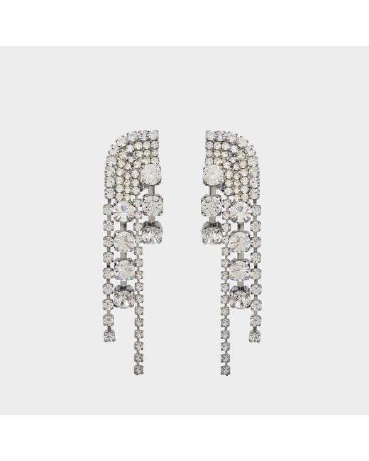 Helene Zubeldia - Metallic Cascade Earrings - Lyst