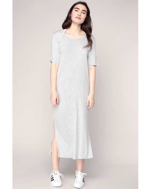 Cheap Monday - Gray Mid-length Dresse - Lyst