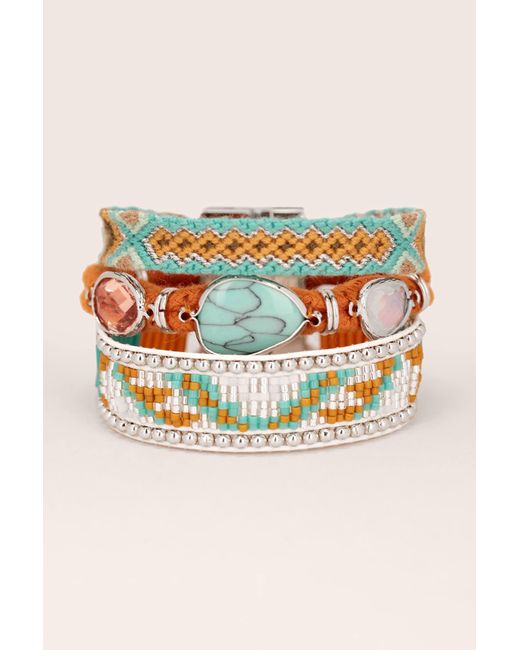 Hipanema - Blue Bracelet - Lyst