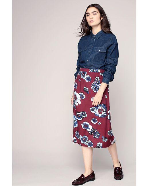 Glamorous | Red Mid-length Skirt | Lyst