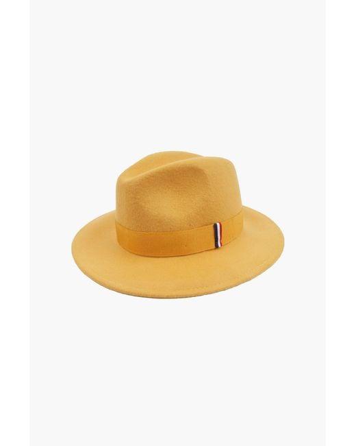 1789 Cala | Yellow Felt Hat | Lyst