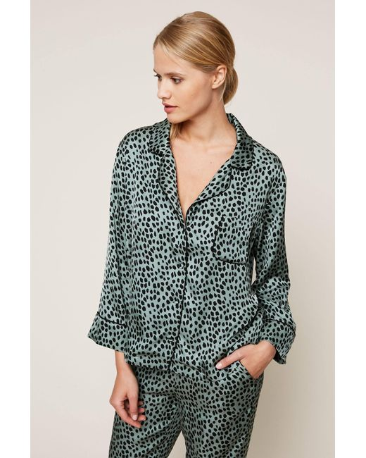 LoveStories   Green Pyjama And Babydoll   Lyst