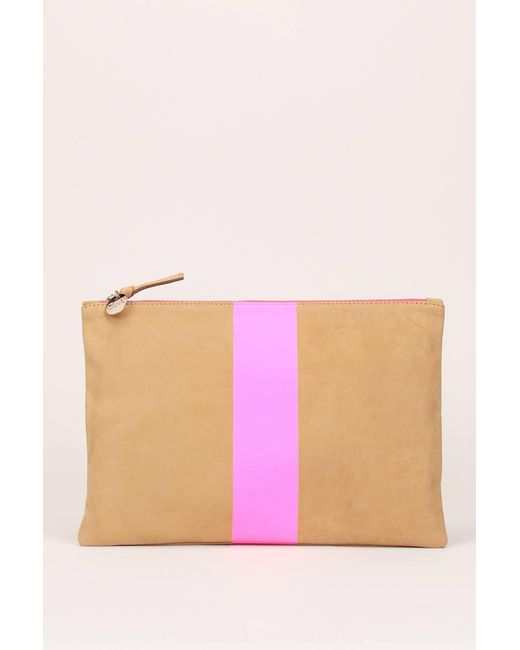 Clare V. - Pink Clutches / Evening Bags - Lyst