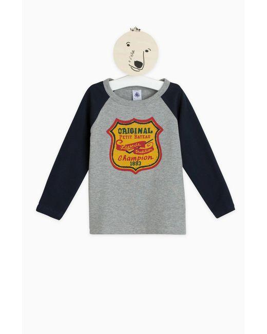 Petit Bateau | Gray T-shirt & Polo Shirt for Men | Lyst