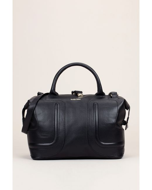 See By Chloé | Black See By Candy Square Shopping Bag | Lyst