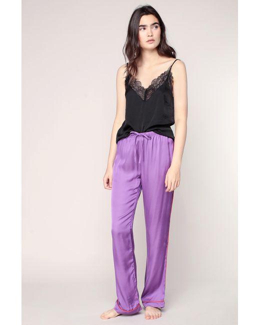 LoveStories   Purple Pyjama And Babydoll   Lyst