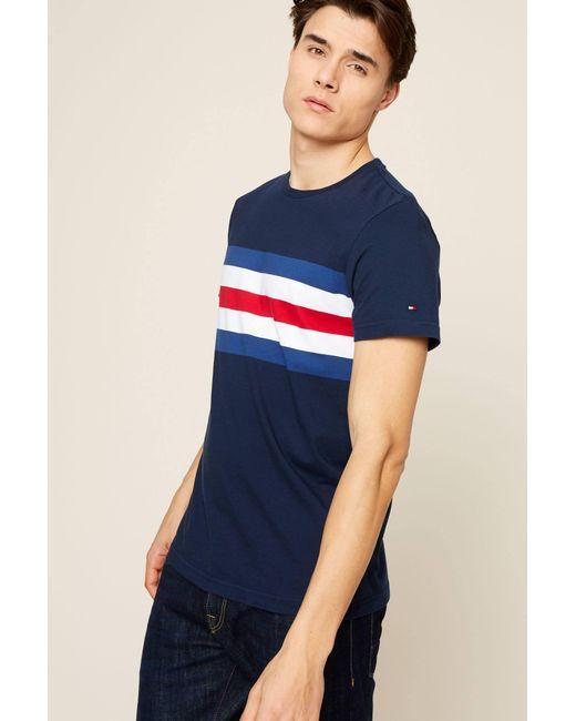 Tommy Hilfiger - Blue T-shirt for Men - Lyst