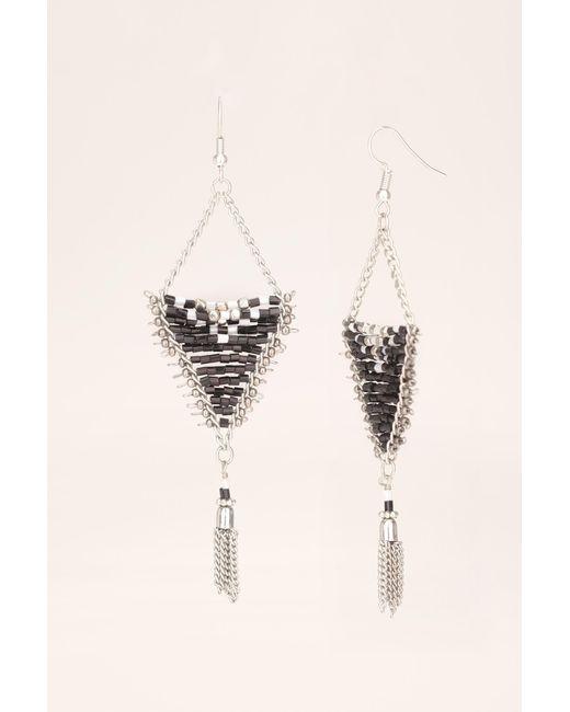 Pieces | Gray Earrings | Lyst