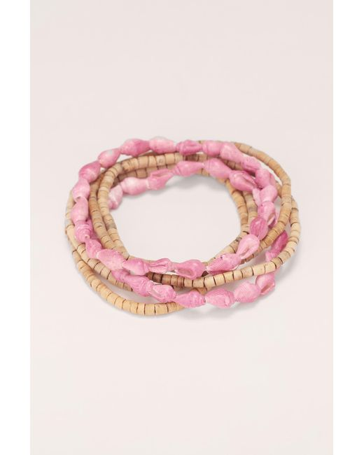 Albertine | Pink Bracelet | Lyst