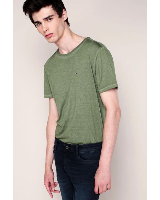 Hilfiger Denim | Green T-shirt for Men | Lyst