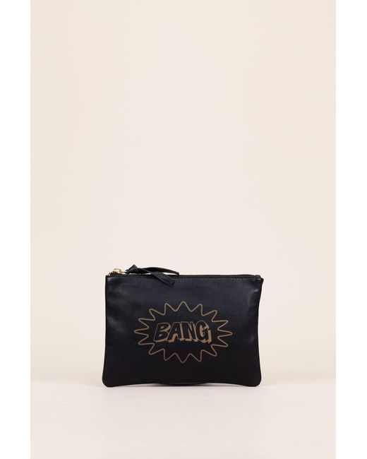 Petite Mendigote | Black Wallet And Coin Purse | Lyst