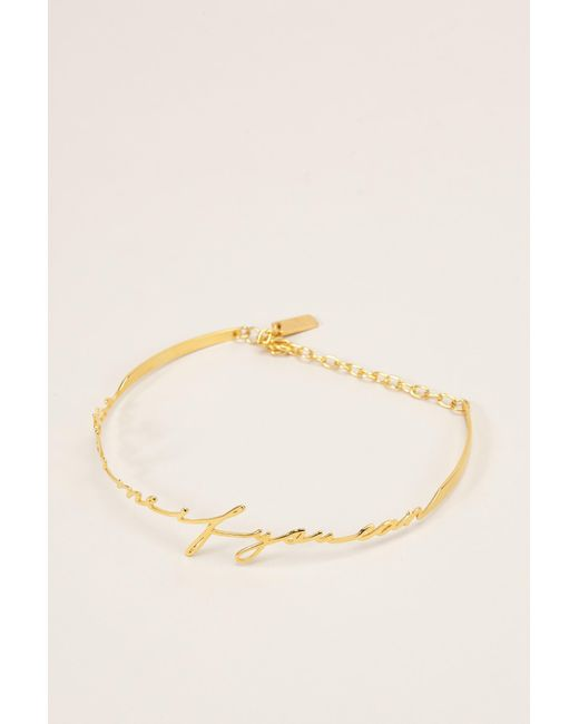 Vanina - Metallic Necklace / Longcollar - Lyst