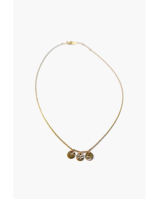 Gag & Lou - Metallic Necklace / Longcollar - Lyst
