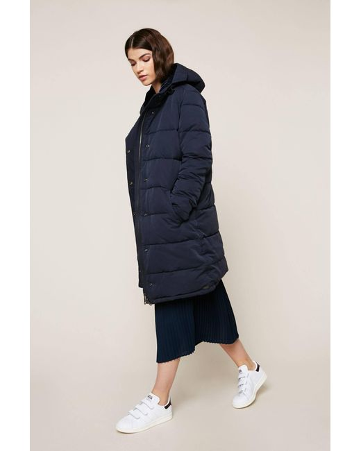 Maison Scotch - Blue Quilted Jacket - Lyst