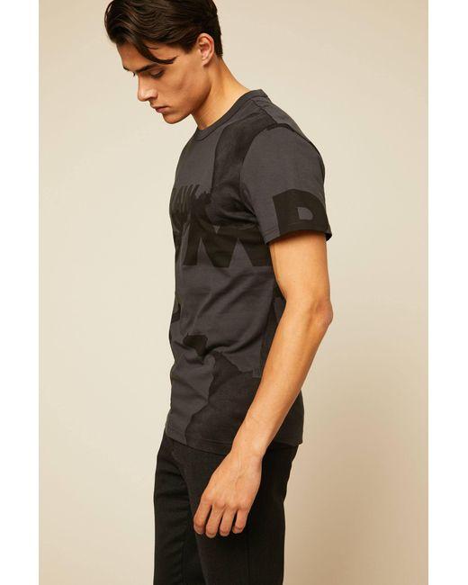 G-Star RAW - Gray T-shirt for Men - Lyst