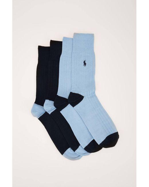 Polo Ralph Lauren | Blue Sock for Men | Lyst