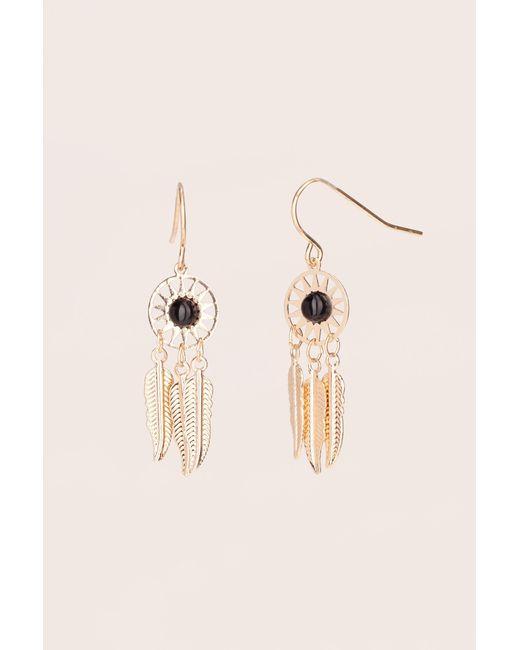 Pieces | Black Earrings | Lyst