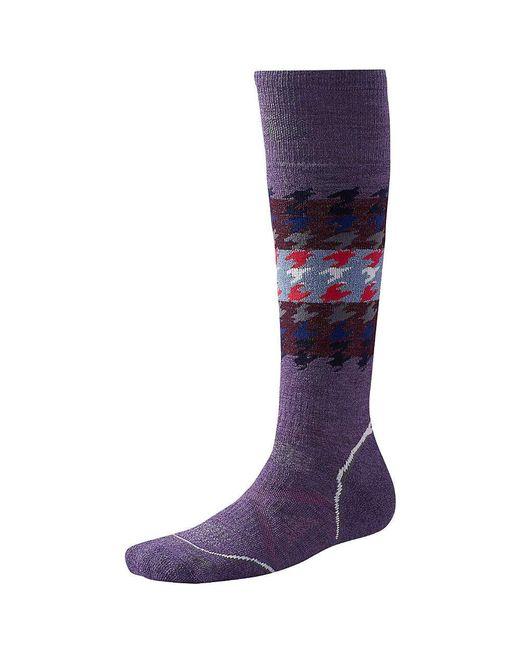 Smartwool - Purple Phd Snowboard Medium Sock - Lyst