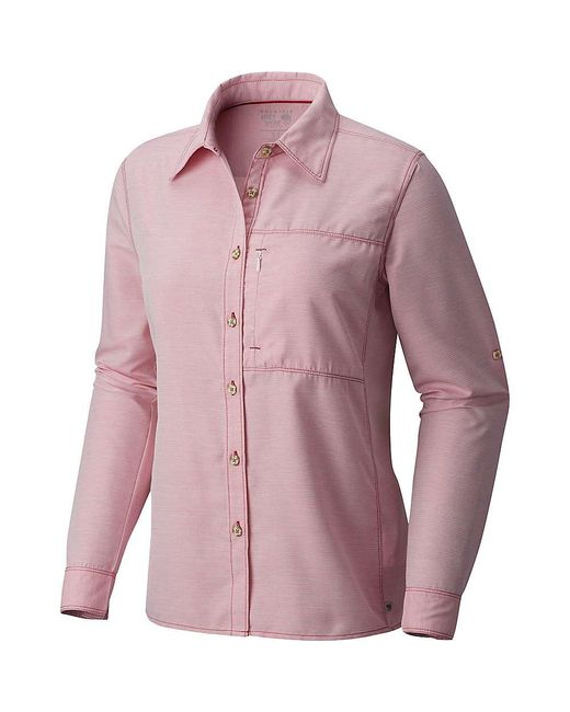Mountain Hardwear - Multicolor Canyon Ls Shirt for Men - Lyst