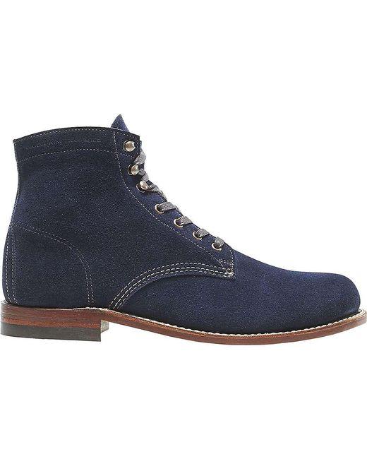 cec590c92593 Lyst - Wolverine 1000 Mile Plain Toe Boot in Blue for Men - Save 60%