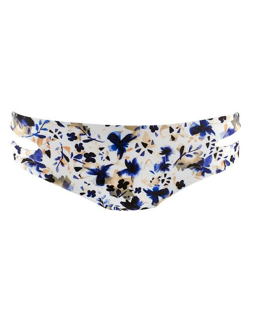 L*Space - Blue Estella Bottom - Lyst