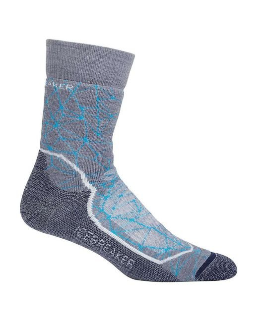 Icebreaker - Blue Hike+ Medium Crew Sock for Men - Lyst