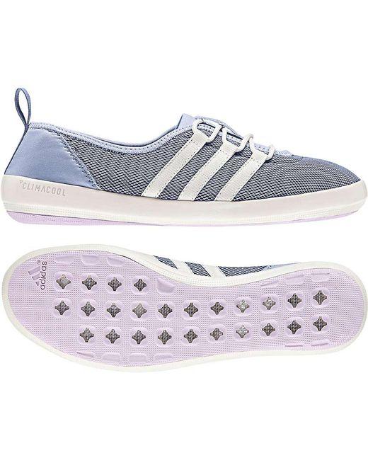 on sale ac474 d49fa Lyst - adidas Terrex Cc Boat Sleek Shoe in Blue