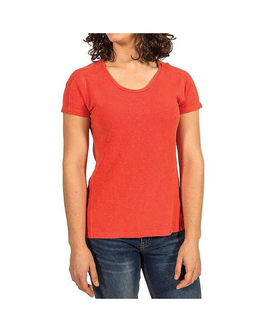 Gramicci - Red Begonia Ss Tee - Lyst