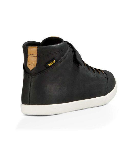 ... Teva - Black Willow Chukka Shoe for Men - Lyst ... 4bc8c8267