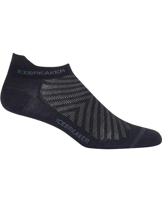 Icebreaker - Black Run+ Micro Ultralight Sock for Men - Lyst