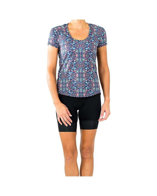 Shebeest - Blue Controlled Burn Tee - Lyst