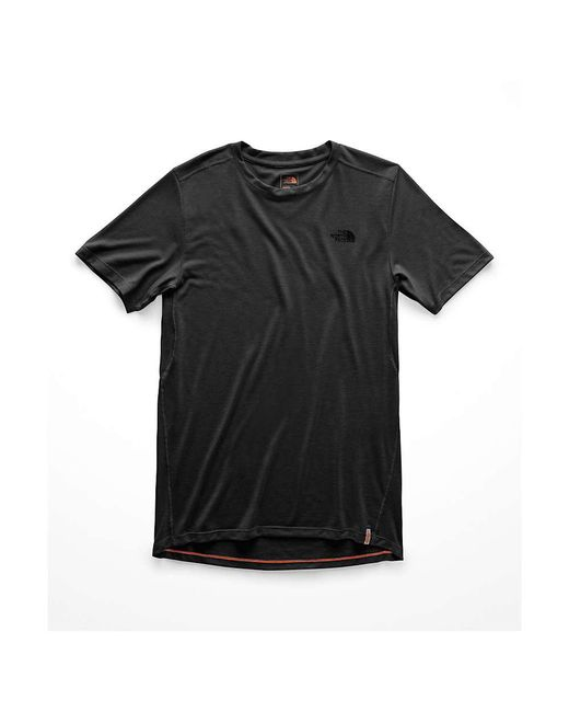 The North Face - Black Beyond The Wall S/s Top for Men - Lyst