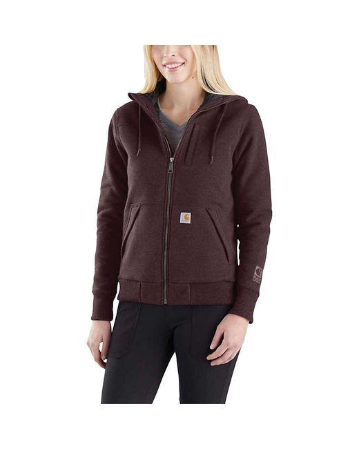 Carhartt - Purple Rain Defender Rockland Quilt-lined Full-zip Hooded Sweatshirt - Lyst