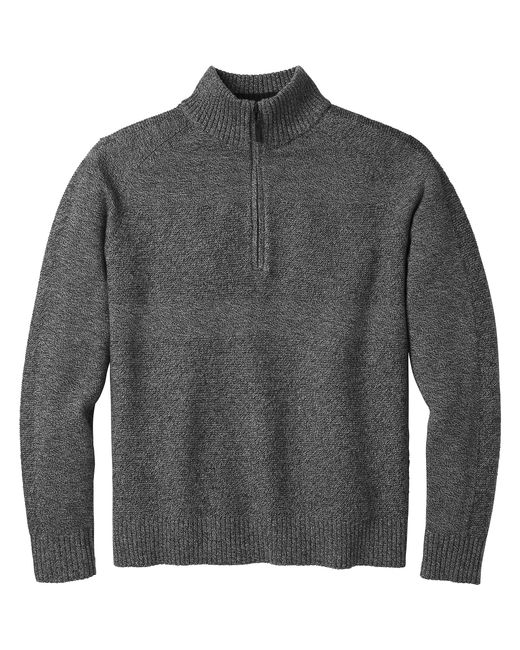 cb64f297083245 Smartwool Ripple Ridge Half Zip Sweater in Gray for Men - Save 7% - Lyst