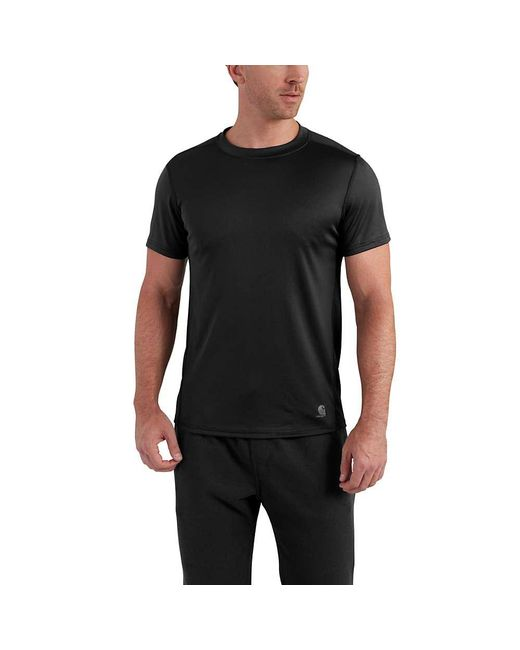 Carhartt - Black Base Force Extremes Lightweight Ss T-shirt for Men - Lyst