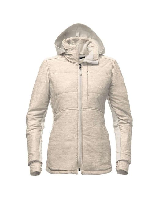 The North Face - Natural Pseudio Long Jacket - Lyst