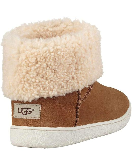 8ee8bf619a8 Lyst - UGG Mika Classic Sneaker in Brown