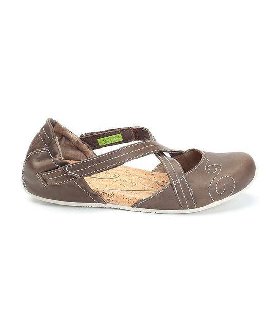 Ahnu | Brown Karma Latitude Leather Shoe | Lyst