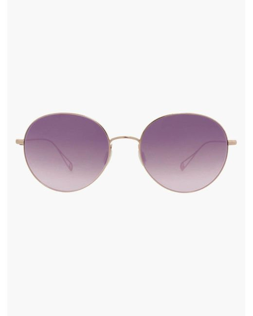 Garrett Leight - Multicolor Valencia 54 Rose Gold - Lyst