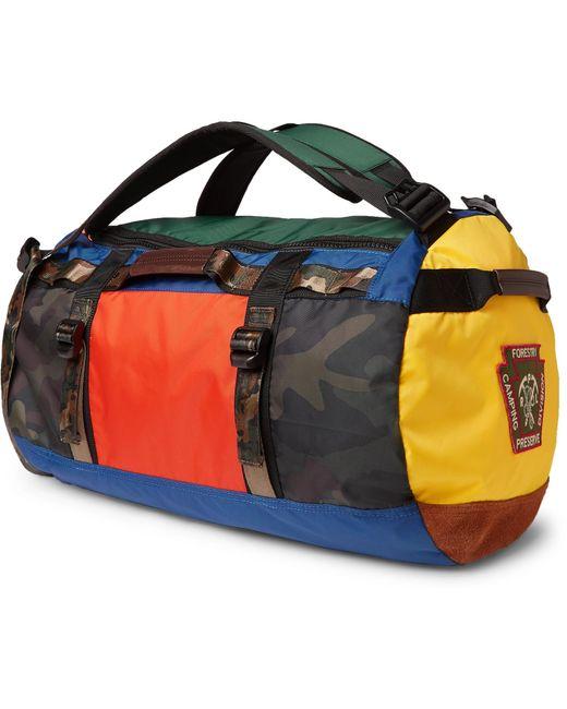 391ffdc89a4 ... Polo Ralph Lauren - Blue Appliquéd Colour-block Nylon Duffle Bag for  Men - Lyst ...