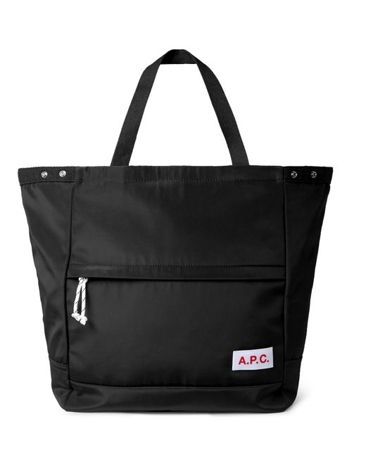 Lyst - A.P.C. Shell Holdall in Black for Men 5bb1449d56cfd