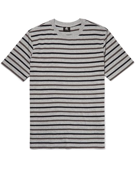 PS by Paul Smith | Gray Striped Cotton-blend Jersey T-shirt for Men | Lyst