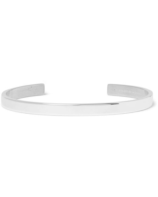 Le Gramme - Metallic Le 15 Polished Sterling Silver Cuff for Men - Lyst