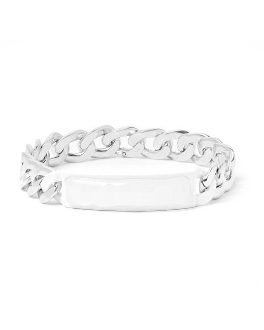 Maison Margiela - Metallic Silver-tone Id Bracelet for Men - Lyst