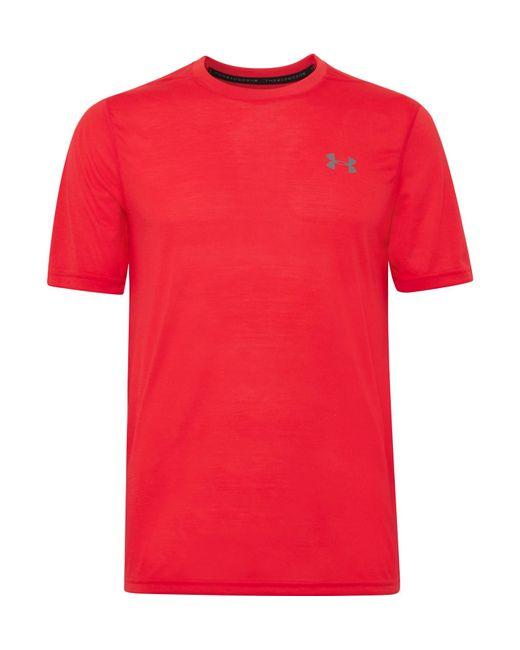 Under Armour - Red Threadborne Siro T-shirt for Men - Lyst