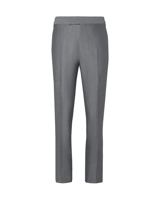 Kingsman - Gray Eggsy's Grey Wool And Mohair-blend Suit Trousers for Men - Lyst