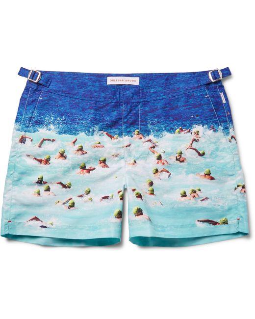 Orlebar Brown   Blue 'setter' Swim Shorts for Men   Lyst