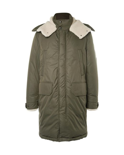 Moncler | Green Grafton Shearling-trimmed Shell Down Parka for Men | Lyst