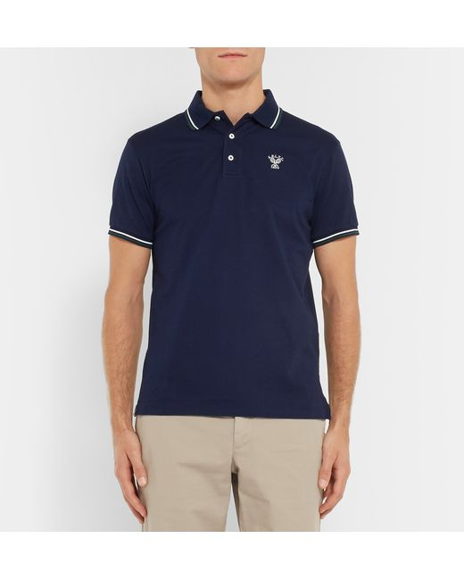Polo Ralph Lauren Wimbledon Slim Fit Striped Stretch
